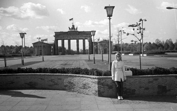 Nikki van der Zyl in Berlin, 1971