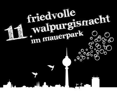 11. Walpurgisnacht im Mauerpark