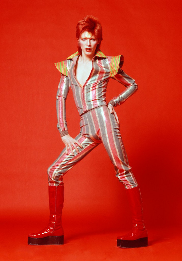 David Bowie, 1973 / Fotografie von Masayoshi Sukita © Sukita / The David Bowie Archive