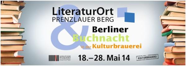 Literaturort Prenzlauer Berg - Berliner Buchnacht 2014