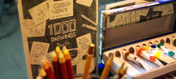 Kreative Werkstatt - Pressefoto © 1000 Drawings Berlin