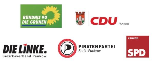Parteien in gemeimsamer Verantwortung in Pankow