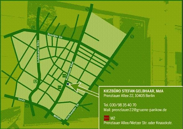 Prenzlauer Allee 22 - 10405 Berlin