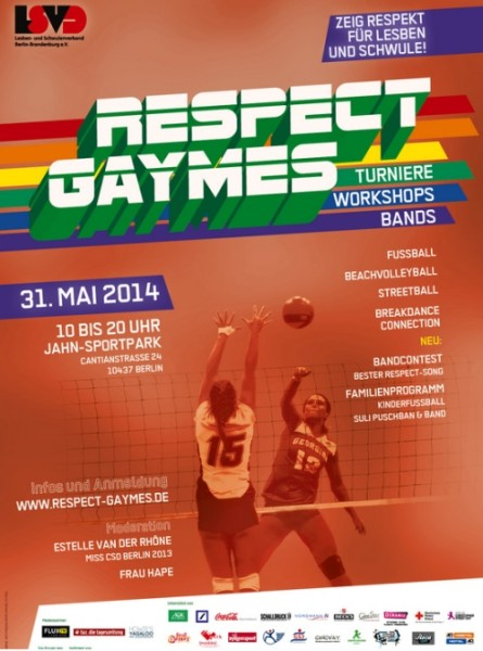 Respect Gaymes 2014 Plakat