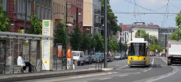 TRAM: Umleitung in Pankow