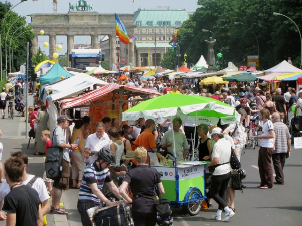 Umweltfestival am Brandenburger Tor