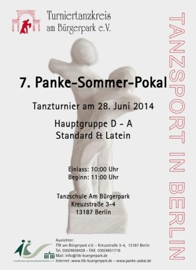7. Panke-Sommerpokal 2014