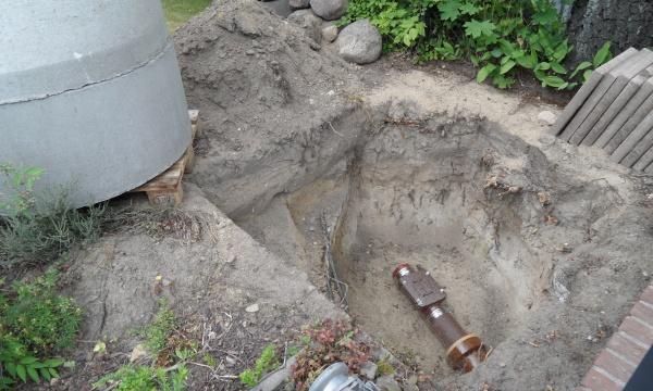 Abwasser-Hausanschluss