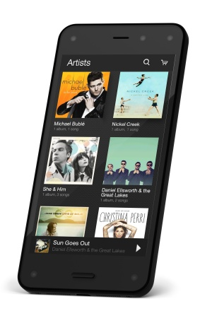 Amazon Fire PHONE: D-right Music Library