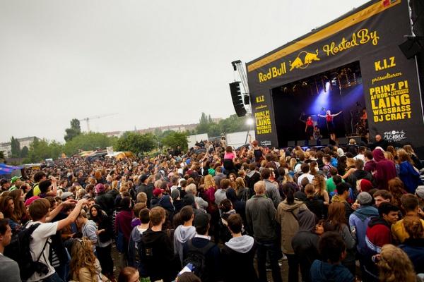 Fête de la Musique im Mauerpark 2012