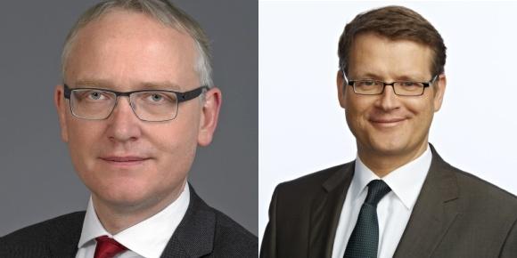 Klaus Mindrup (MdB-SPD) und Stephan Lenz (MdA-CDU)