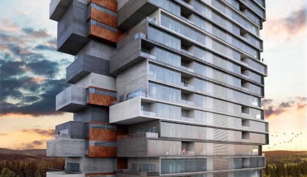 ABRIL Mistral Tower Gaeta-Springall Architects