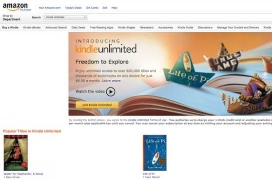 Amazon: kindle unlimited