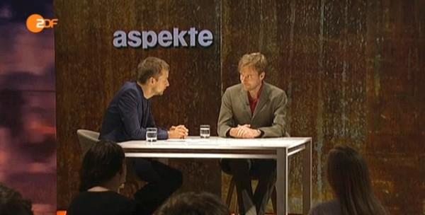 """ZDF """"Aspekte"""" - Interview mit Tim Renner"""