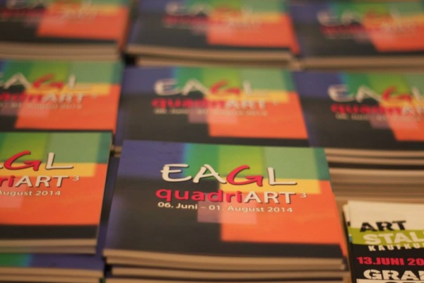 """EAGL Gallery """"Quadri-Art2014"""