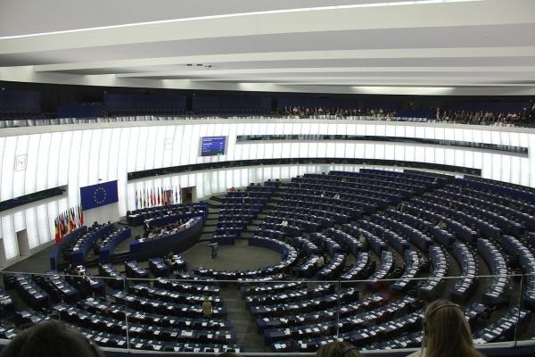 Europa-Parlament - Plenarsaal