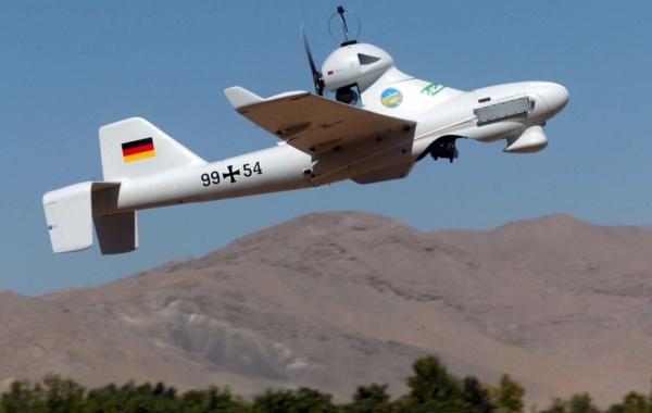 Aufklärungs-Drohne: LUNA - Fa. EMT