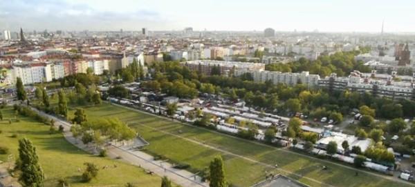 Mauerpark mit Flohmarkt