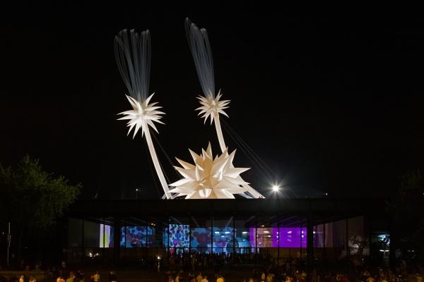 Otto Piene: SKY ART EVENT, 19. Juli 2014