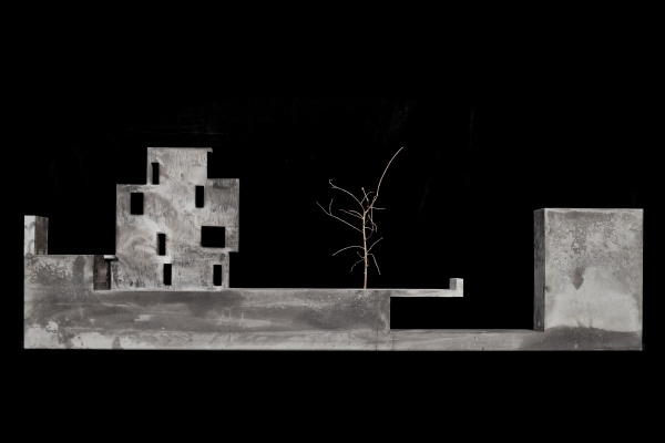 Sant Cugat House, Model-Concret