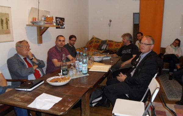 Wahlkreistour zu Besuch bei Mietern