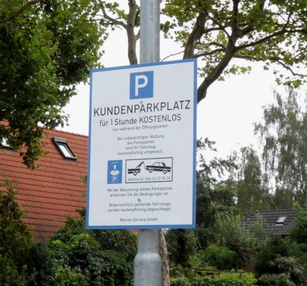 Netto - Parkplatz in Karow