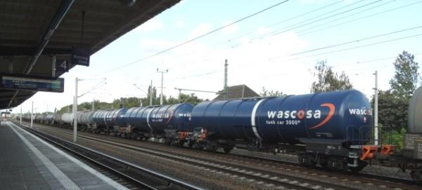 Kesselwagenzug in Blankenburg