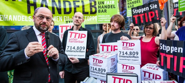 "TTIP ""nfairhandelbar"" am 22.5.2014"