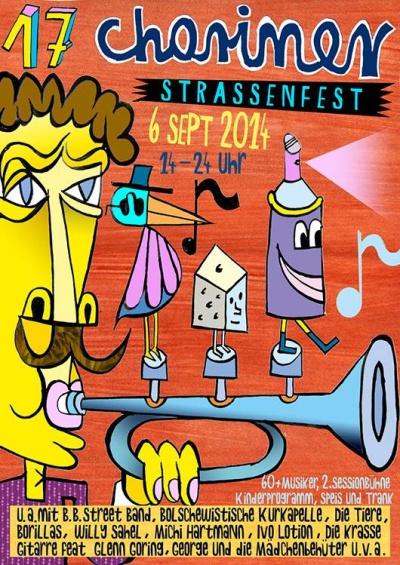 17 Choriner Straßenfest 6.9.2014