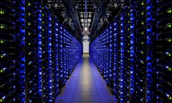 Google Data Center von innen