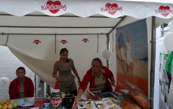 Tourismusinformation Kolobrzeg auf dem Pankefest 2014