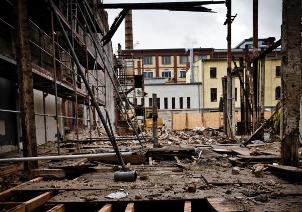 Ruine: Schankhalle auf dem Pfefferberg