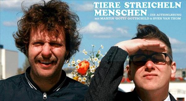 Martin Gottschild und Sven van Thom - © Kulturbrauerei Berlin