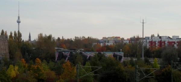 Geplante Baufläche für Nordbebauung am Mauerpark