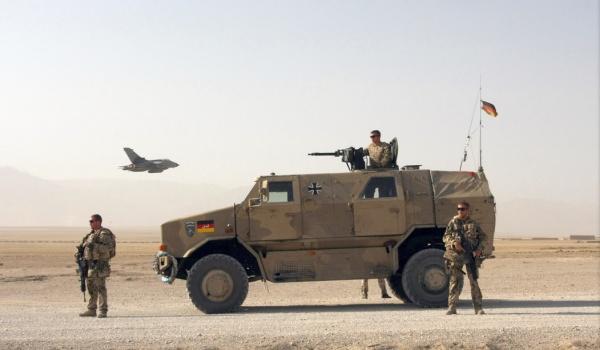 Allschutz-Transport-Fahrzeug (ATF) Dingo 2 in Masar-e-Sharif