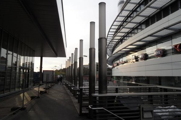 Empfangsgebäude Bahnhof Gesundbrunnen -