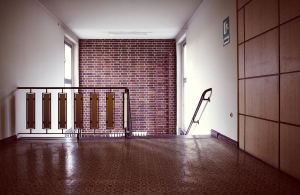 Treppenflur im INTRAC Verwaltungsgebäude Pestalozzistr. 5-8