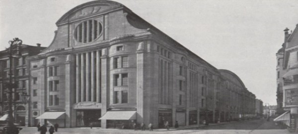 Kaufhaus Leonhard Tietz in Elberfeldt