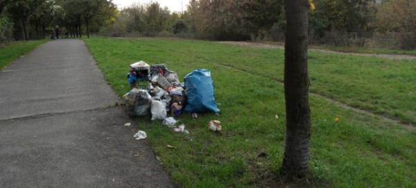 Mauerweg: Mülllproblem am Wochenende