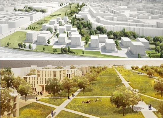 Städtebaulicher Entwurf Lorenzen-Architekten