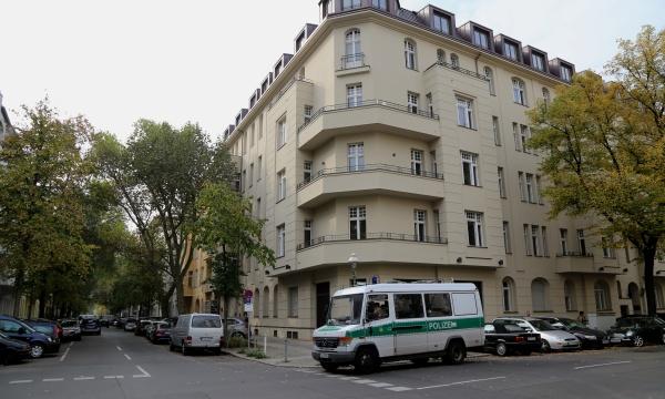 Wieland Palais: Polizeieinsatz in der Wielandstrasse