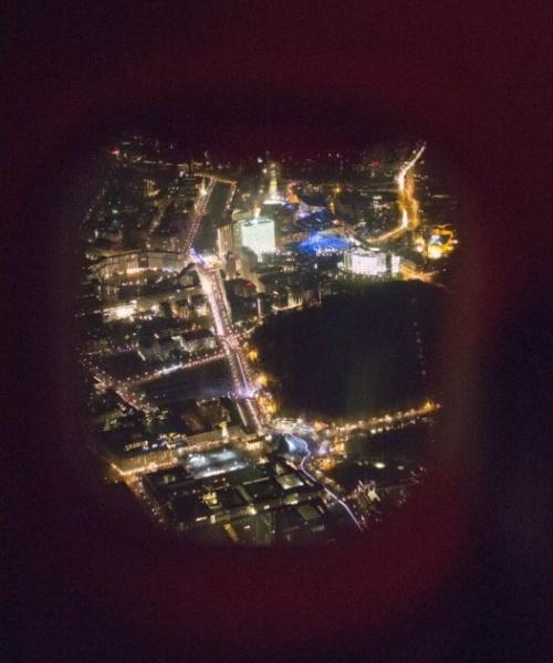 25 Jahre Mauerfall Sonderflug airberlin