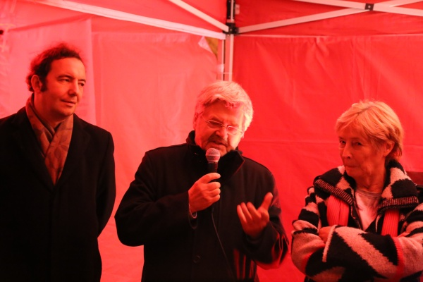 25 Jahre Mauerfall: SPD vor Ort