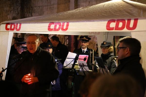 25 Jahre Mauerfall: Andacht der CDU
