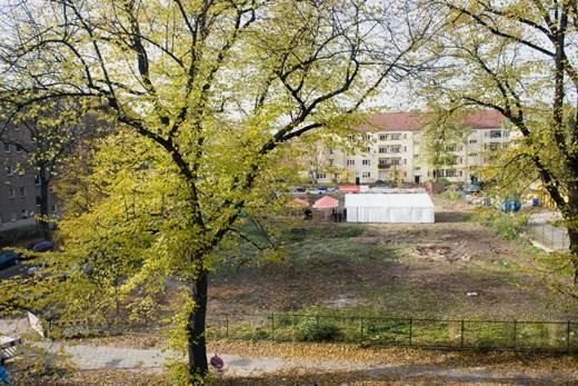 Baustelle Thulestr. 31-33 in Pankow