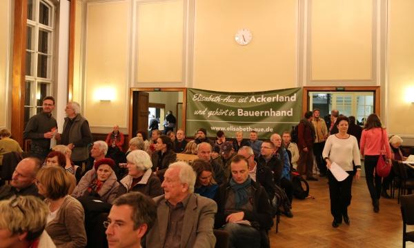 Bürgerinitiative Elisabethaue in der BVV
