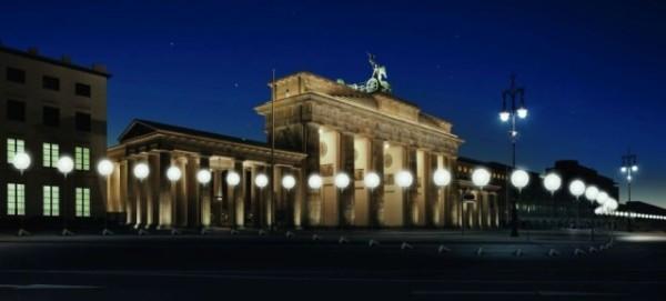 25 Jahre Mauerfall: Lichtgrenze am 9.11.2014