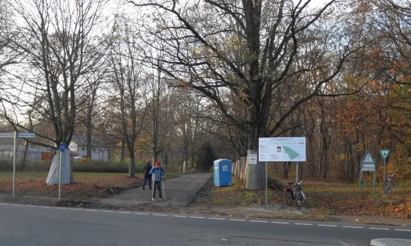 Schönholzer Heide: Neuer Geh- und Radweg
