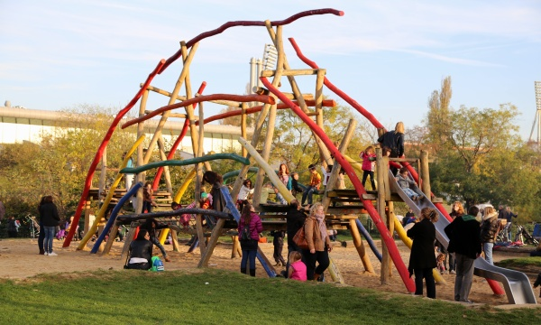 Spielplatz im Mauerpark