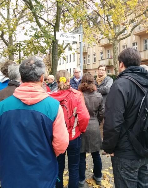 Waldstraße 22 am 9.11.2014
